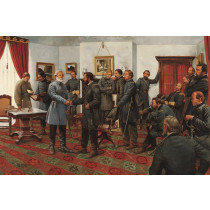 The Surrender - Appomattox Courthouse